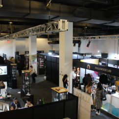 Trade Show 30,000 square foot Manhattan Cosmetics Fashion Art